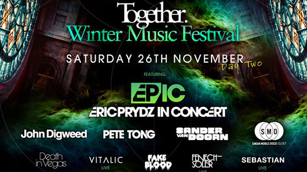Photoreport: Together Winter Music Festival, Eric Prydz in Concert, London, Alexandra Palace, 26.11.2011 129