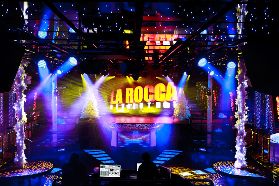 Photoreport: New lighting equipment at LaRocca Club, Riga, 23.01.2012 8