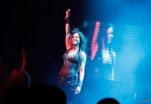 Photoreport: Nyusha in Studio 69 Concert Hall, Riga, 06.04.2012 18