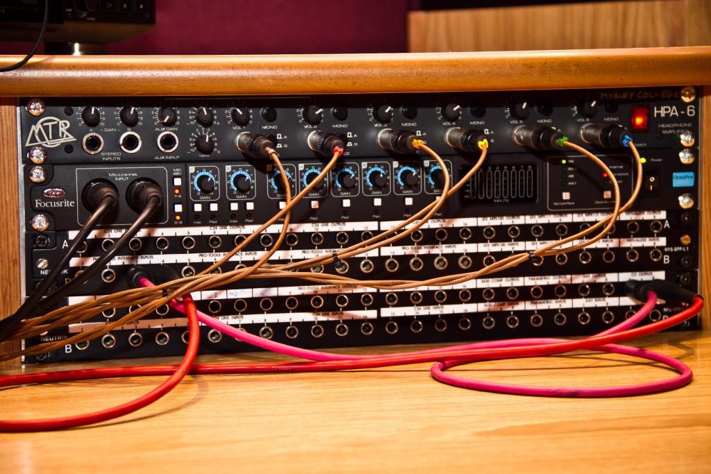 Photo: Студия звукозаписи в Morley College, London 10