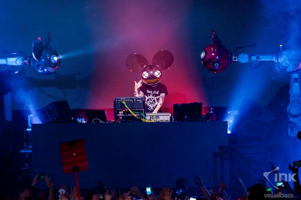 Финальный сет Deadmau5'a в клубе Guvernment