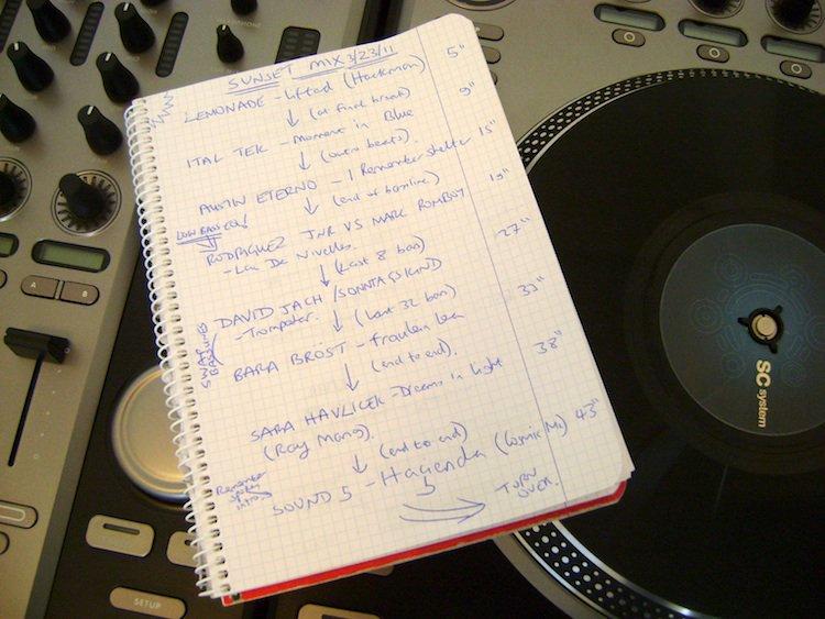 DJ School: 5 ситуаций, когда необходимо планировать сет